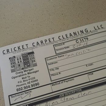 Cricket Carpet Cleaning - Carpet Cleaning - 1208 E Grovers Ave