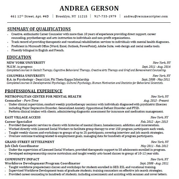 Grief Counselor Cover Letter Resume Guidance Resume Cv Cover