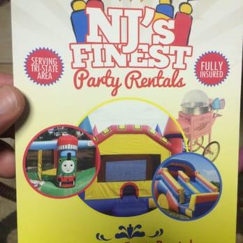 NJ\u0027s Finest Party Rentals - Party Equipment Rentals - Flemington, NJ - party rental flyer