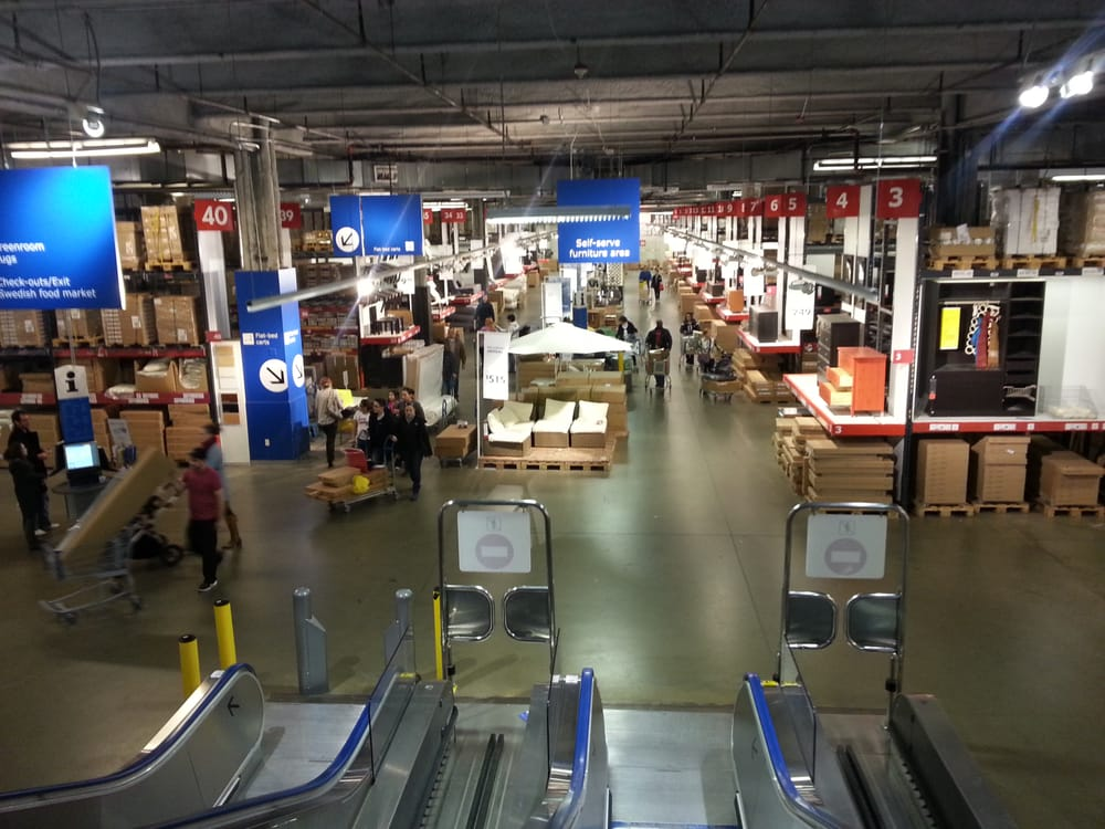Ikea Schaumburg Self Serve Furniture Area | Yelp