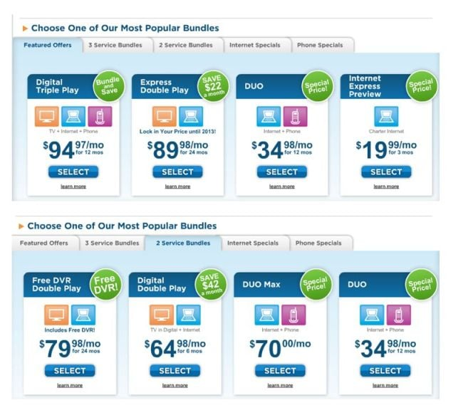 Charter Communications - CLOSED - 14 Reviews - Internet Service