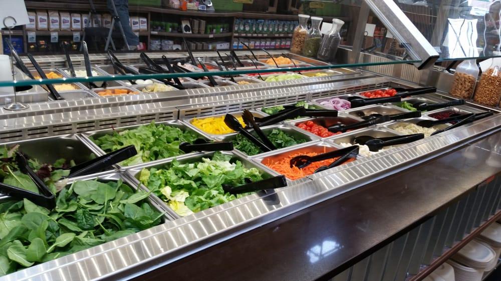 Incredibly fresh salad bar! - Yelp