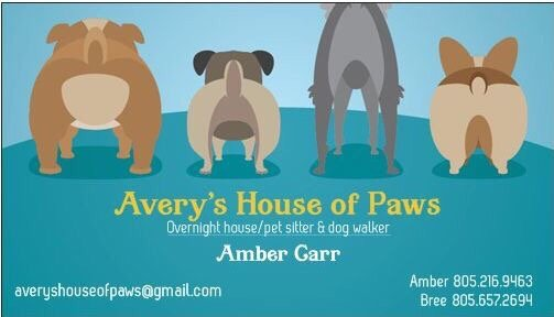 Avery\u0027s House of Paws - Dog Walkers - Ventura, CA - Phone Number - Yelp