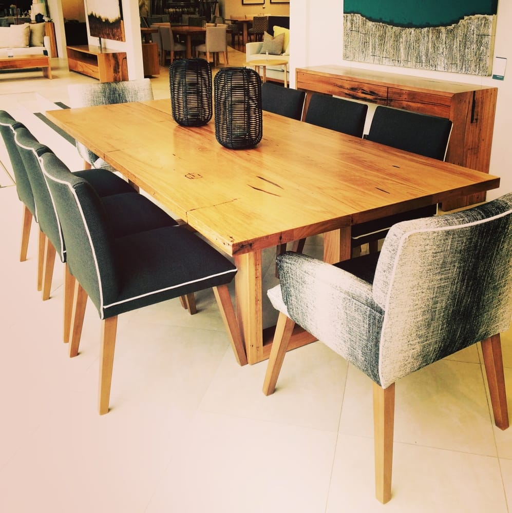 Furniture Stores Richmond Victoria Chicago Dining Table With Maison Chairs Custom Made In Melbourne