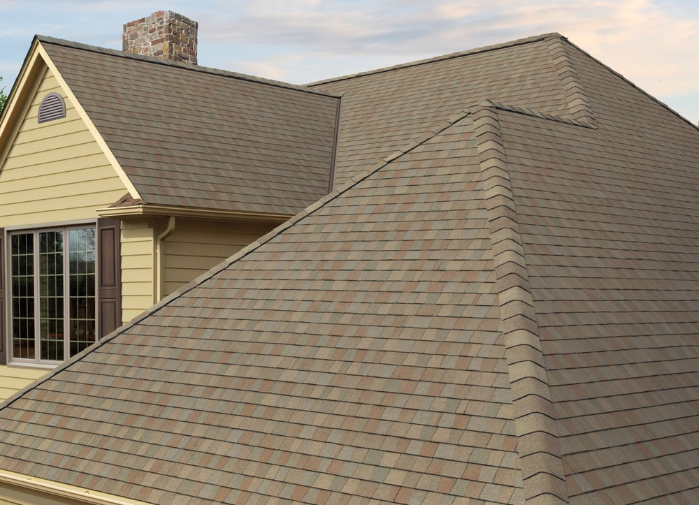 Composition Shingles (Gaf Timberline American Harvest - Amber
