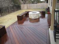 IPE Deck w/ Gas Fire Pit | Yelp