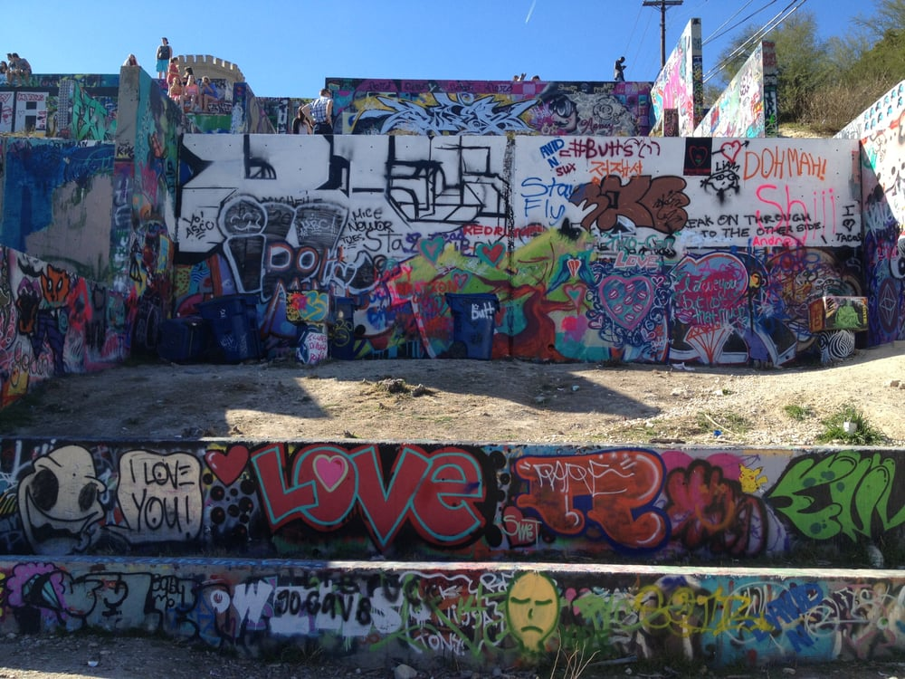 Photos For Baylor Street Art Wall Yelp