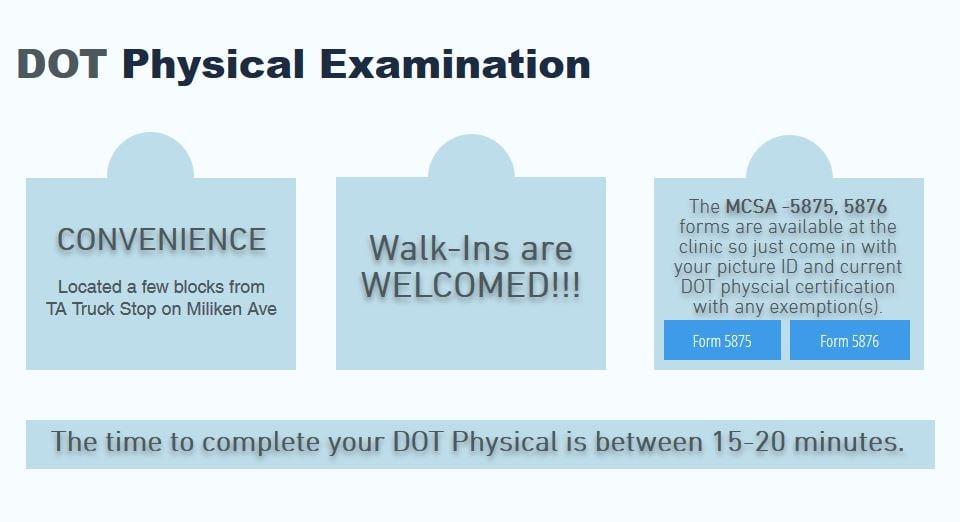 Photos for DOT Physical Examination - Yelp
