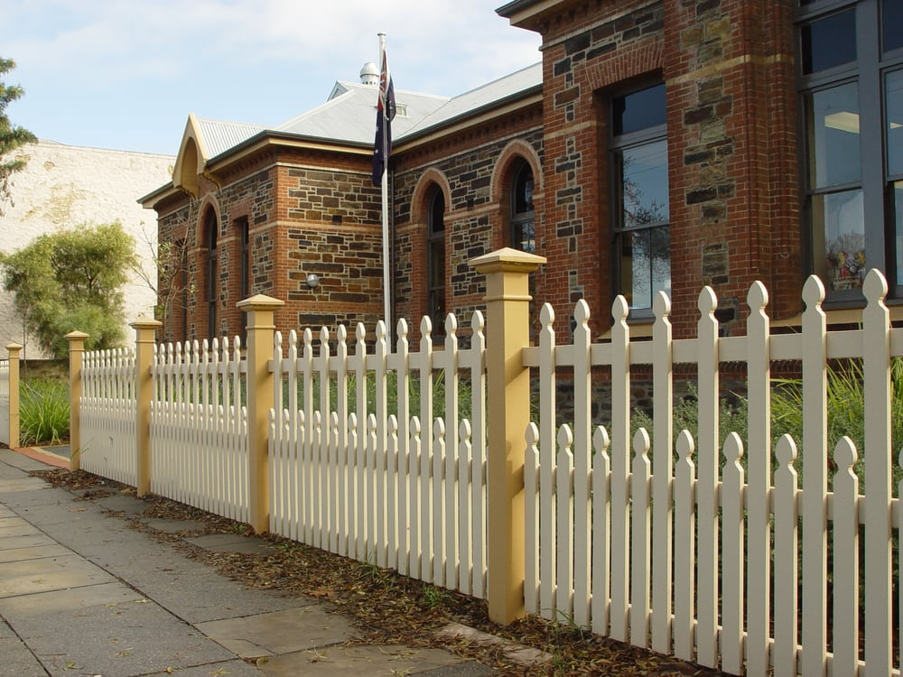 North Adelaide Primary Reproduces Its Original Fence Based