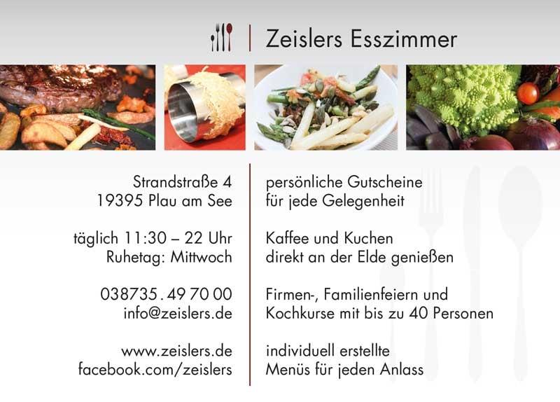 Zeislers Esszimmer   German   Strandstr 4, Plau Am See
