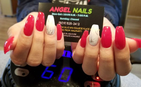 Angel Nails 1605 SE Meadowbrook Blvd College Place, WA Manicurists