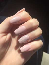 Acrylic gel nails $35 flat, even with the coffin shaped ...