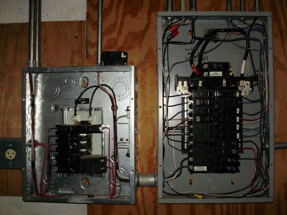 100 amp sub panel wiring diagram