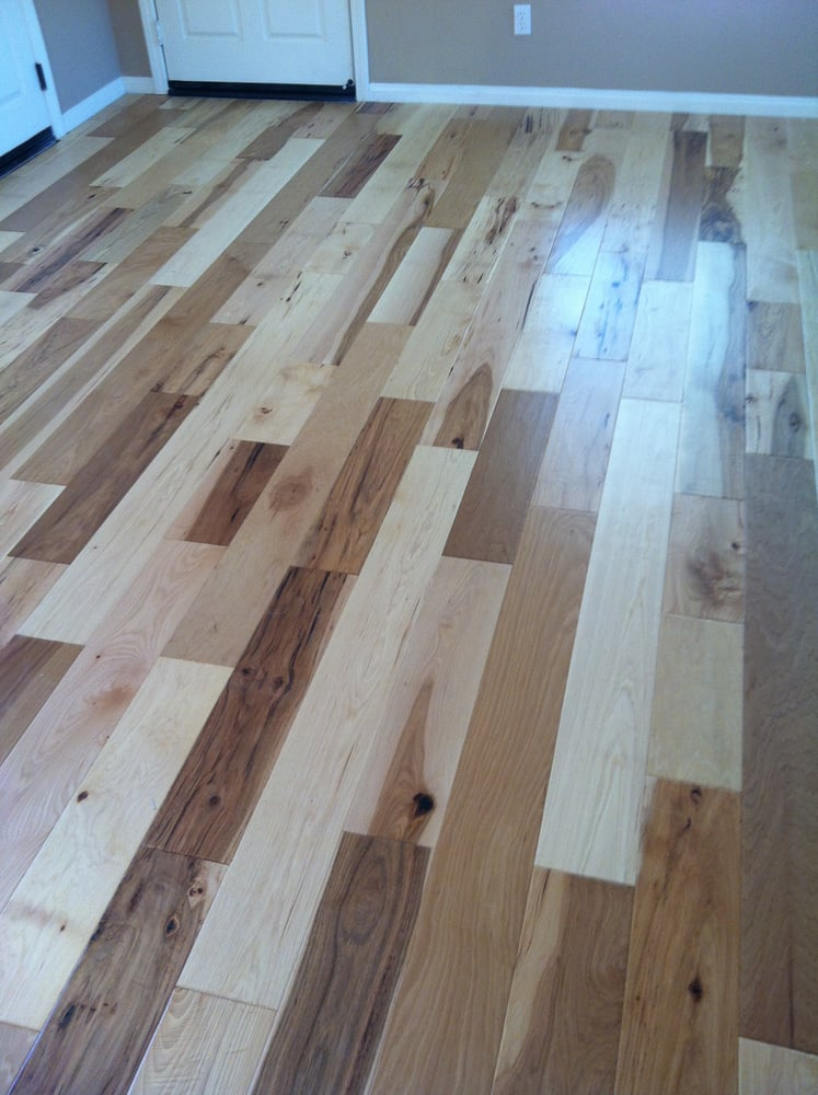 Hickory Pecan Hardwood Professionally Installed Yelp