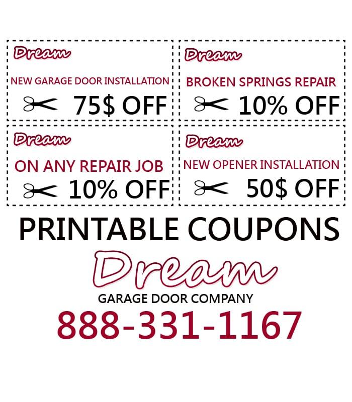 Dream Garage Door Repair - CLOSED - Garage Door Services - 9977 N