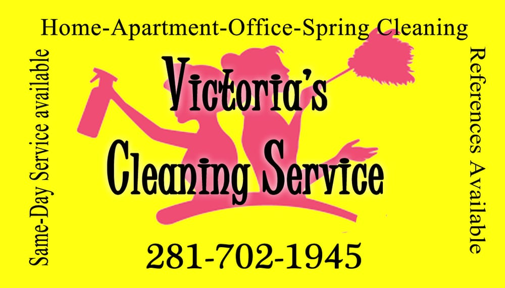 Victoria's Cleaning Service Maid - Home Cleaning - Katy, TX ...