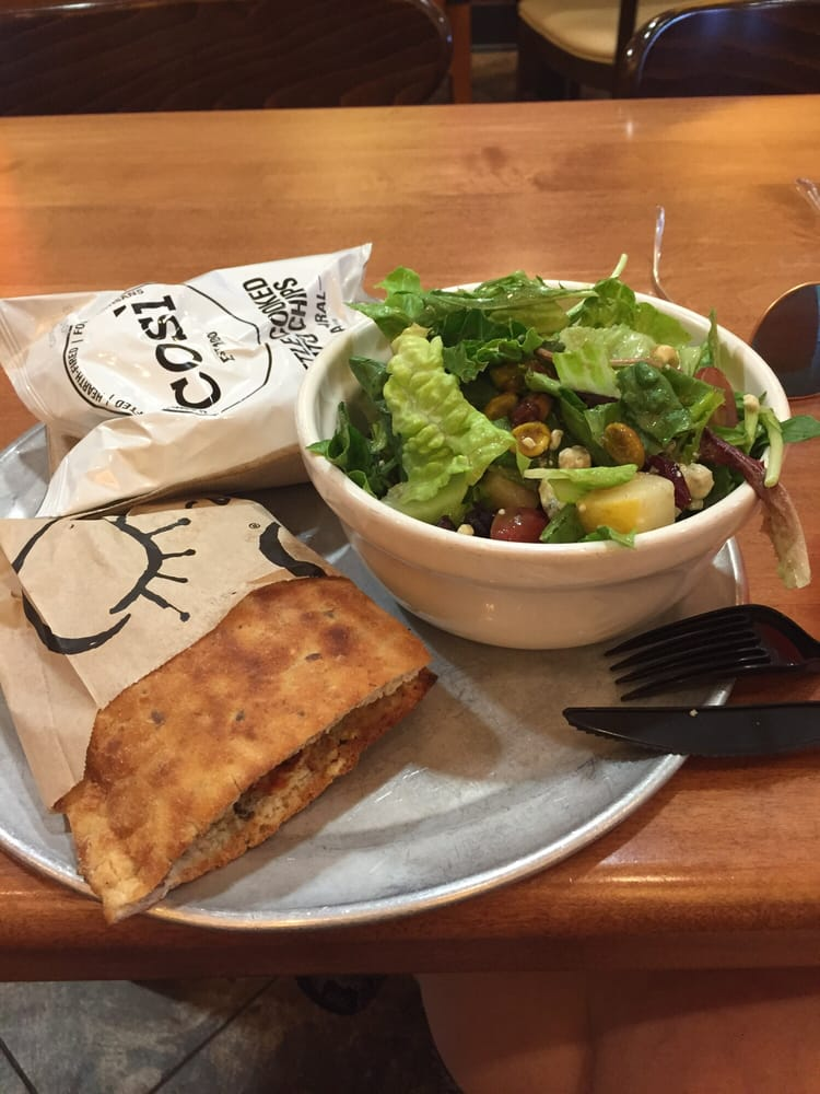 Half sandwich half salad - Yelp