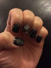 Black & Silver Nail Shellac by Tony. - Yelp