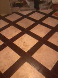 Tile With Wood Border | Tile Design Ideas