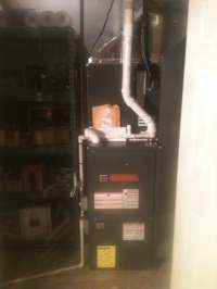 High Efficiency Goodman Furnace Installation, Part of ...