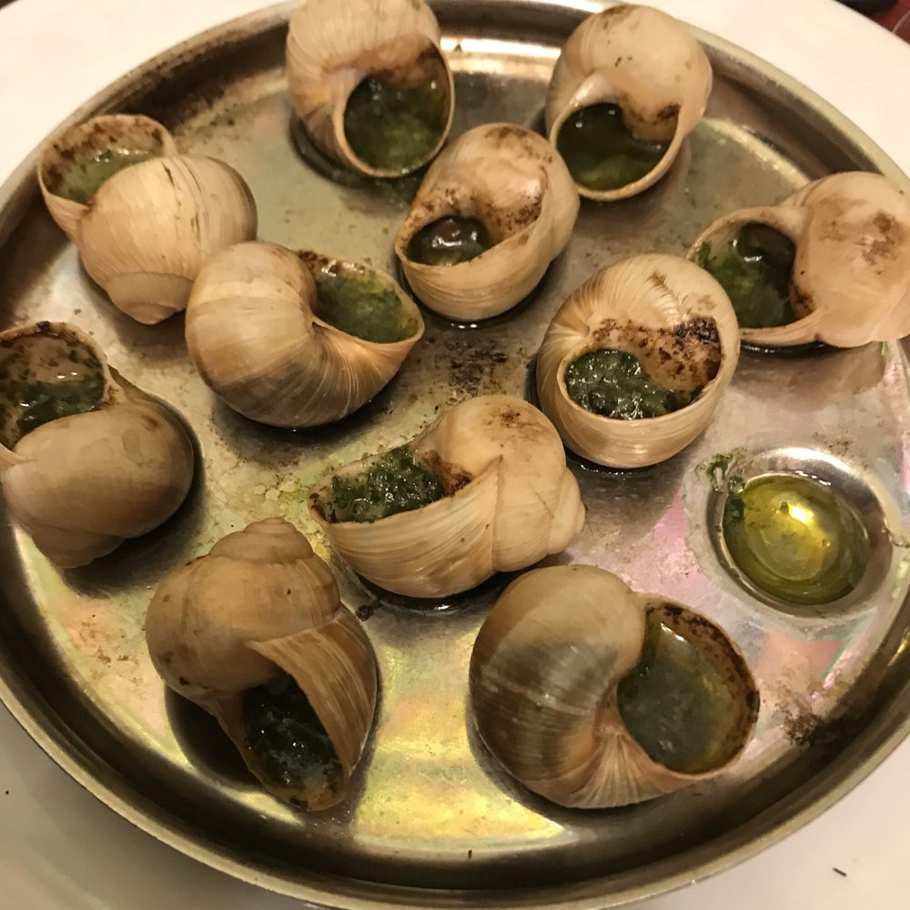 Café Des Capucines Paris Escargot Again Solid Yelp