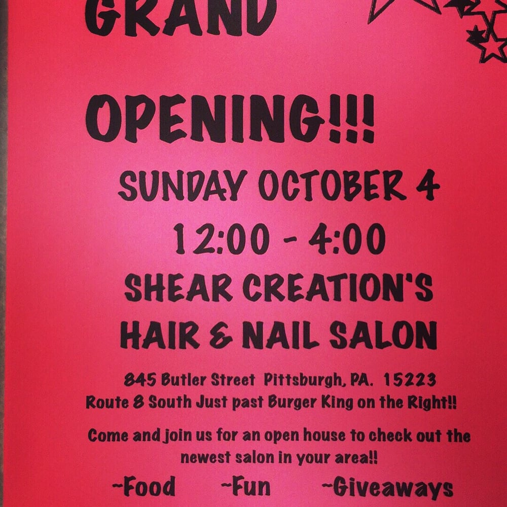 Salon Creation Shear Creation S Hair And Nail Salon Closed Hair Salons 845