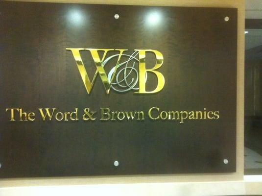 Word  Brown Companies 721 S Parker St Orange, CA Insurance - MapQuest