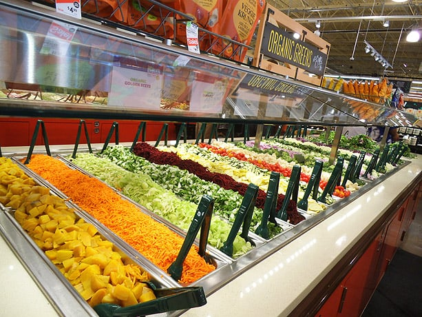 Fresh salad bar - Yelp