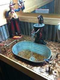 The coolest bathroom sink ever - Yelp