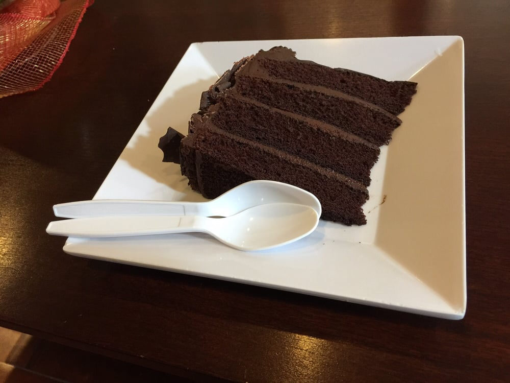 A slice of cake to share - Yelp