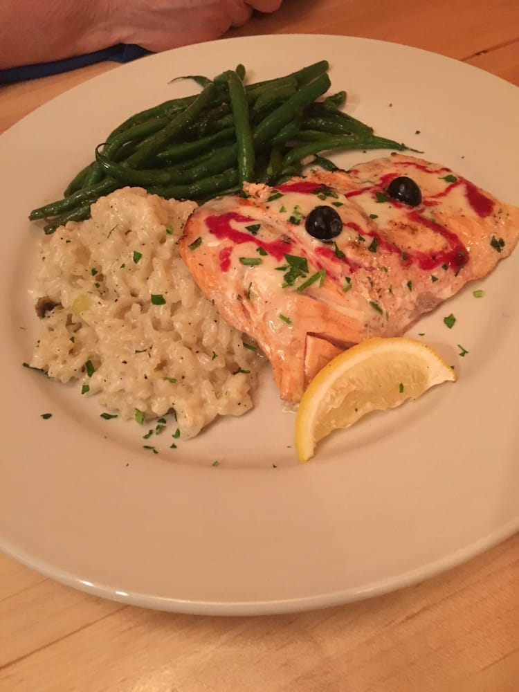 Tavola Restaurant Bentonville Wood Fired Salmon - Yelp