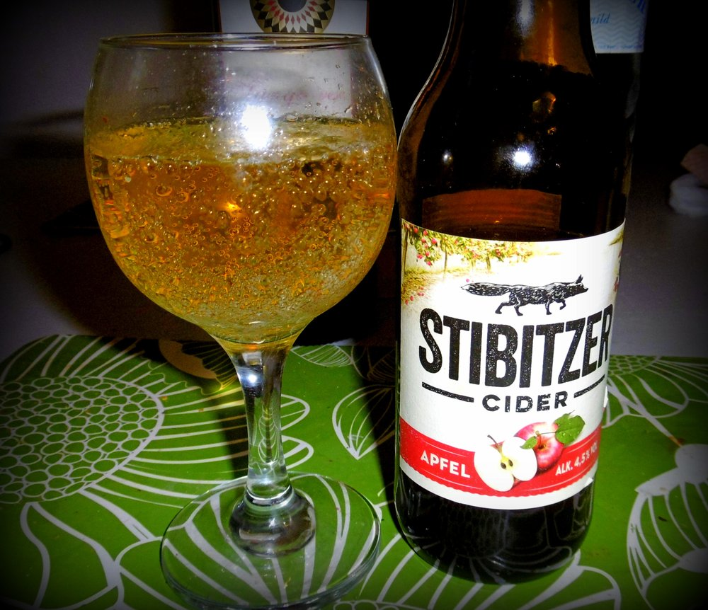 Apfel Cider At Home I Like To Drink An Austrian Stibitzer Cider With My