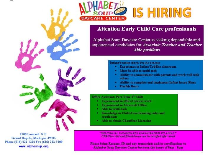 Alphabet Soup Day Care Center - Child Care  Day Care - 1708 Leonard