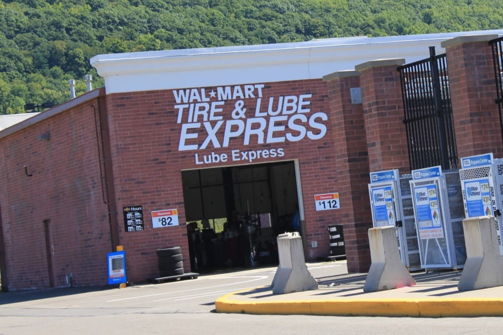 Walmart\u0027s Tire  Lube Express Center of which I wrote my review - walmart norwich