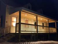 Exterior LED recessed porch lights in Westbrook | Yelp