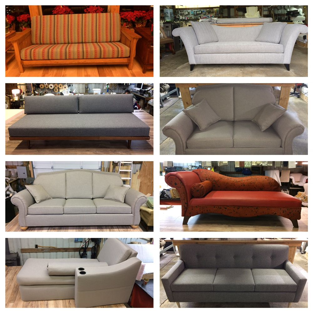 Anatol 3 Seater Retro Sofa M M Creative Upholstery 1380 Photos 27 Reviews Furniture