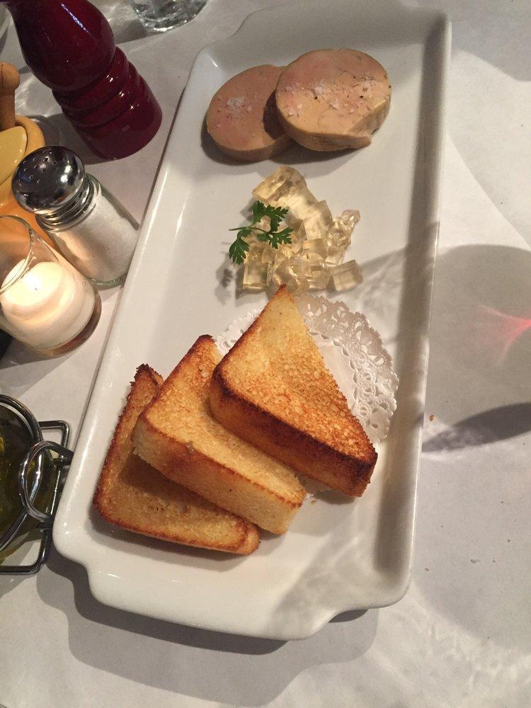 Foie gras au torchin w/sauternes gelee  brioche - Yelp