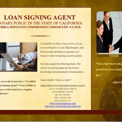 Erika's Mobile Notary Public - Los Angeles, CA, United States. Loan Signing Agent