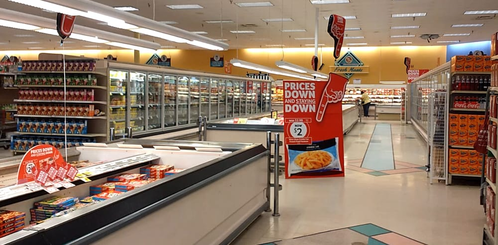 Winn Dixie Inside Before Renovations And Lowering Prices