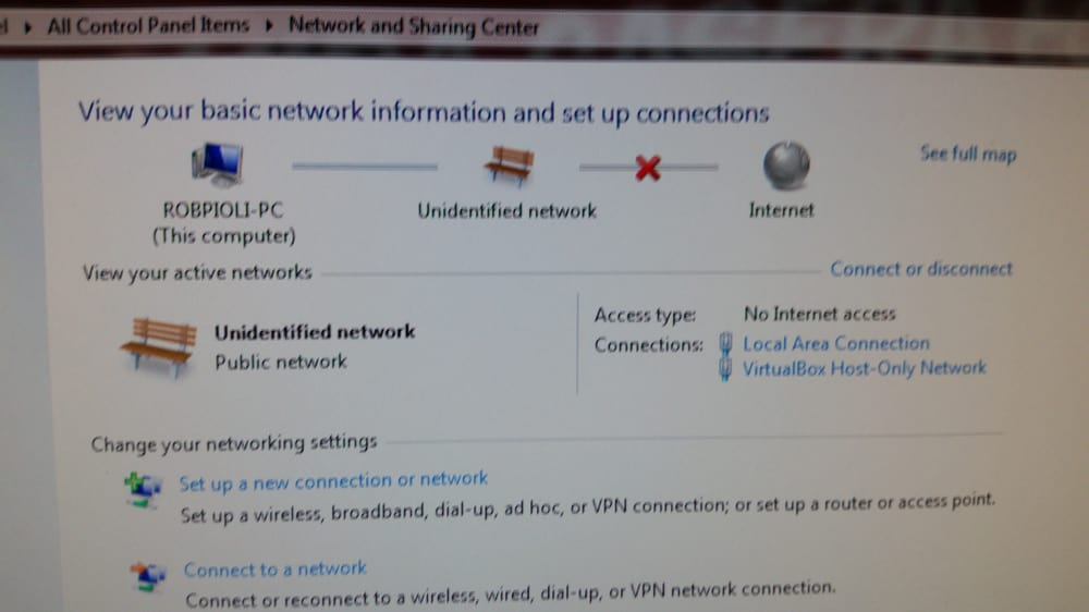 Internet down again Like a dope, I used to call customer tech