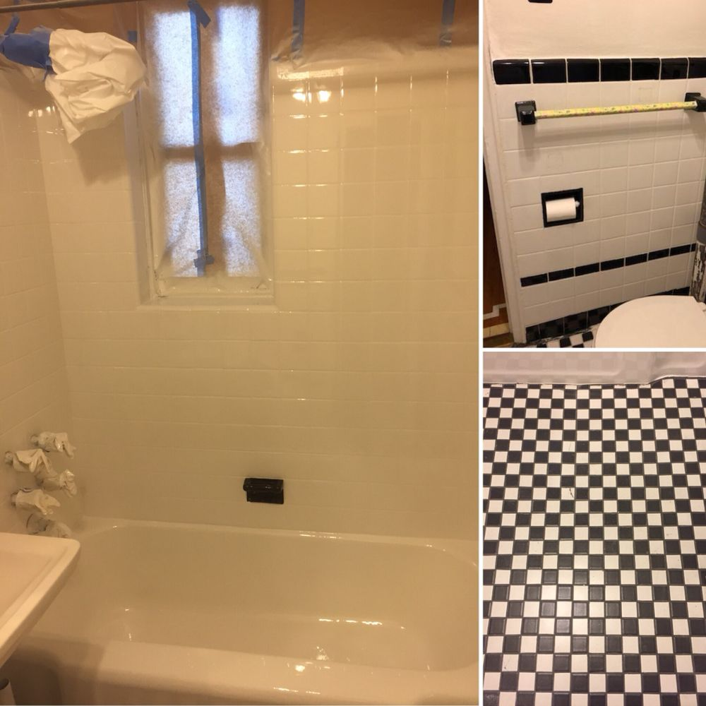 Trendy Tile Regrouting Done By Our Team Yelp How To Regrout Tile Bathroom How To Regrout Tiles Photo Kitchen Tub Tile Reglazing United Tub Tile houzz-02 How To Regrout Tile