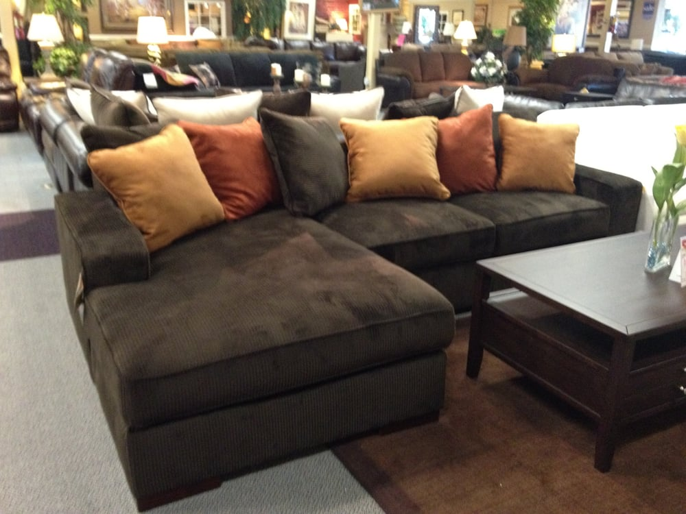 Corduroy Sofa Sectional Ashley Chocolate Corduroy Sectional Sofa. Starting At Only