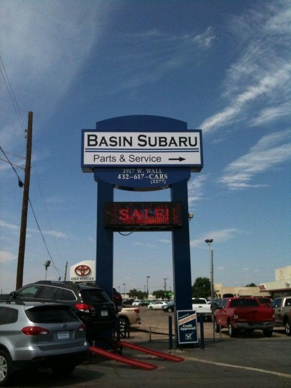 Basin Subaru has a full-service and parts center - Yelp