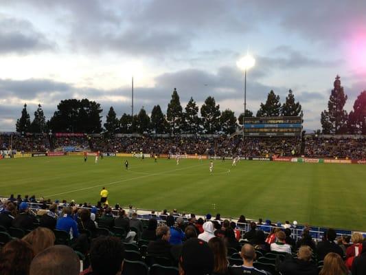 Buck Shaw Stadium 500 El Camino Real Santa Clara, CA Stadiums Arenas