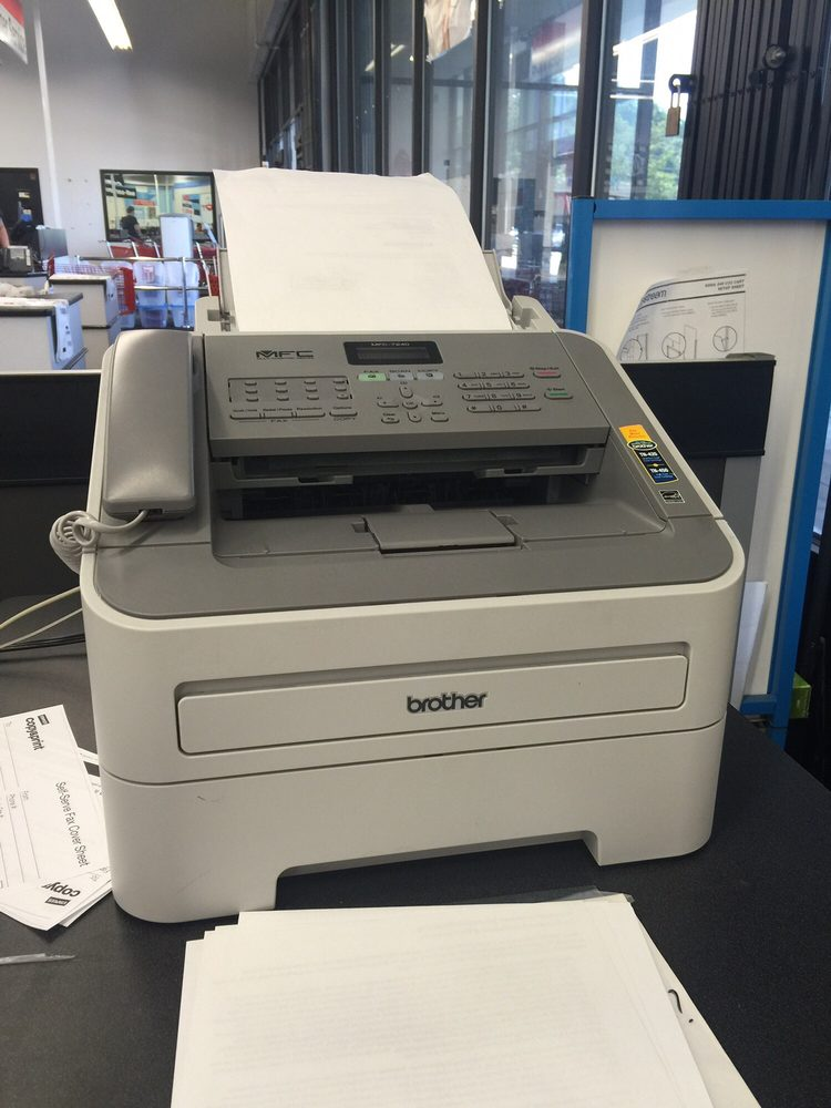 Fax service Located in the copy/print area - Yelp