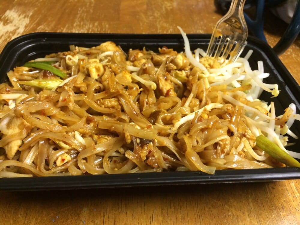 Thai Takeout Takeout Spicy Pad Thai! - Yelp