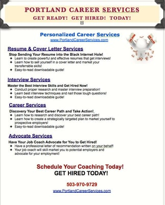 Portland Career Services - Career Counseling - 3850 SE 82nd Ave