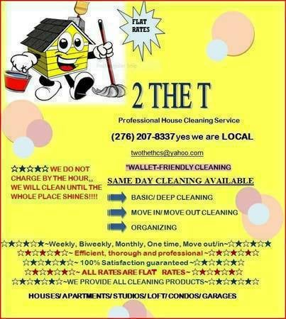 2 The T-Professional House Cleaning Service - Home Cleaning - San - local house cleaning