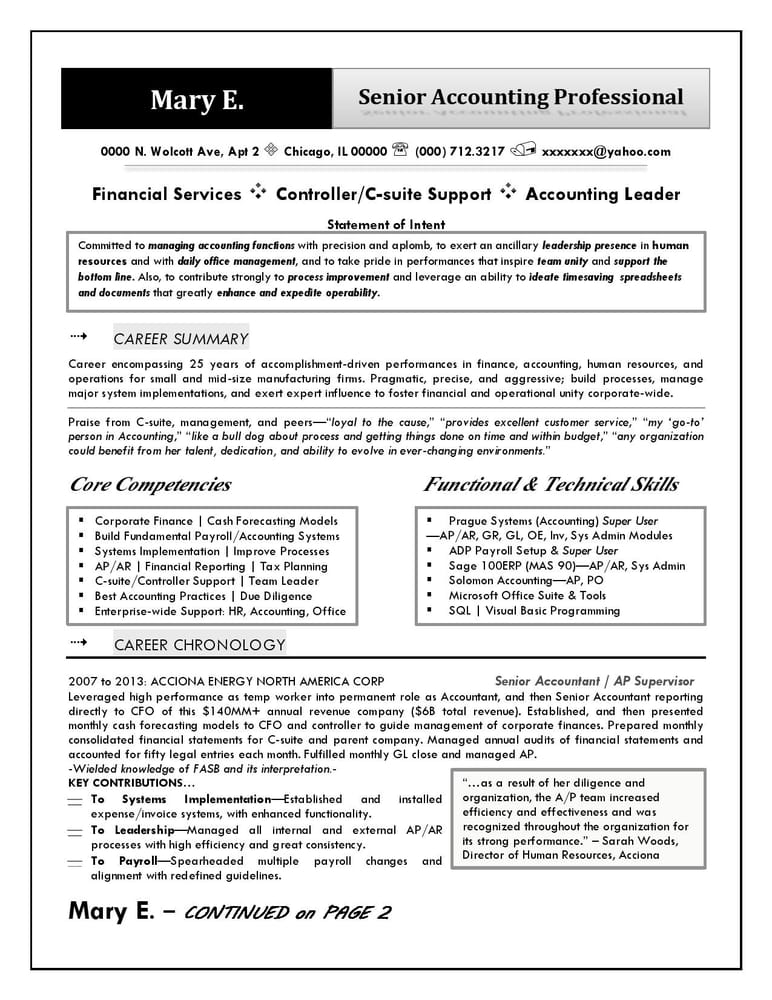 Professional Resume Writing services Personal sample work Also