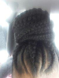 Updo braids - Yelp